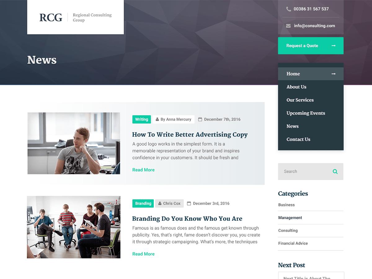Download ConsultPress Lite 1.2.3 – Free WordPress Theme
