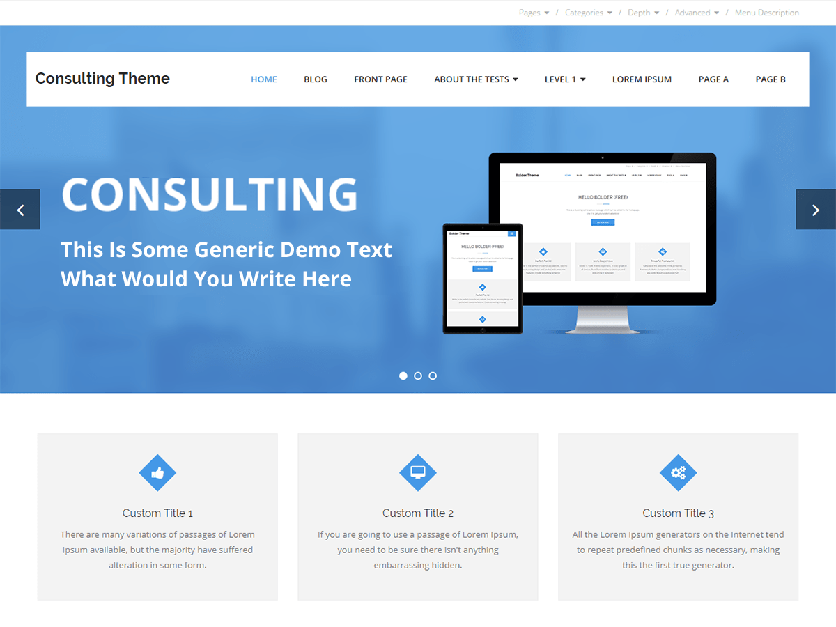 Download Consulting 1.2.6 – Free WordPress Theme