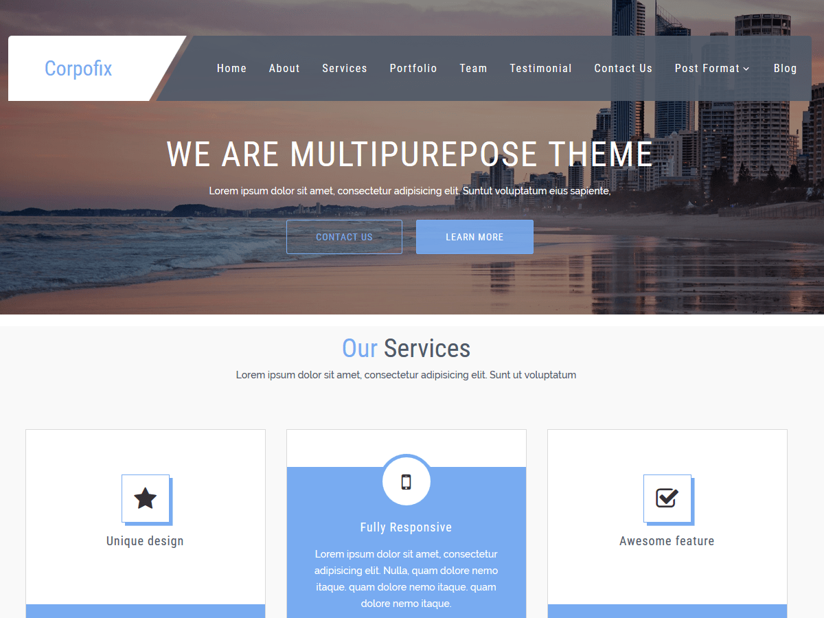 Download CorporateSource 2.3 – Free WordPress Theme