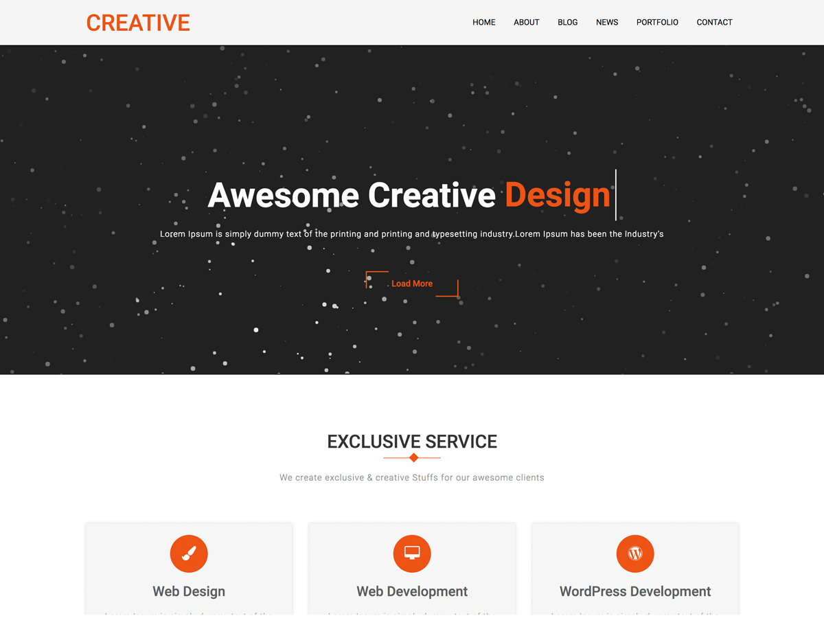 Download Creative Company 1.0.5 – Free WordPress Theme