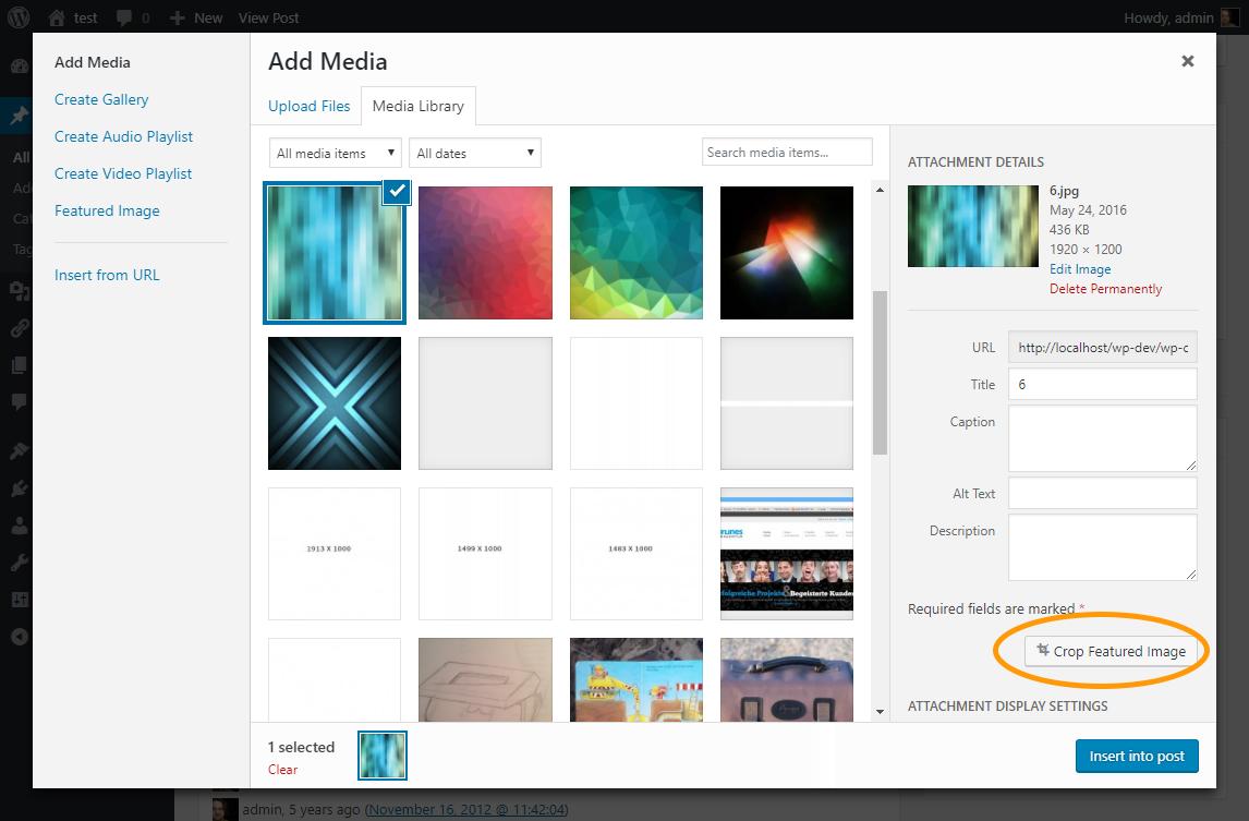 Download Crop-Thumbnails 1.1.3 – Free WordPress Plugin
