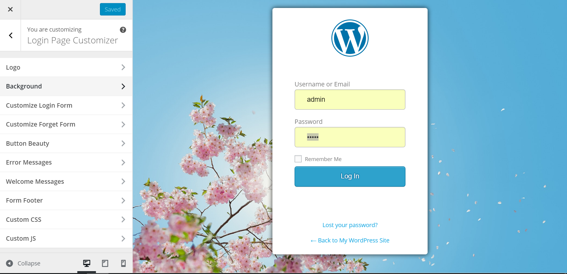 Download Custom Login Page Customizer | LoginPress 1.1.12 – Free WordPress Plugin