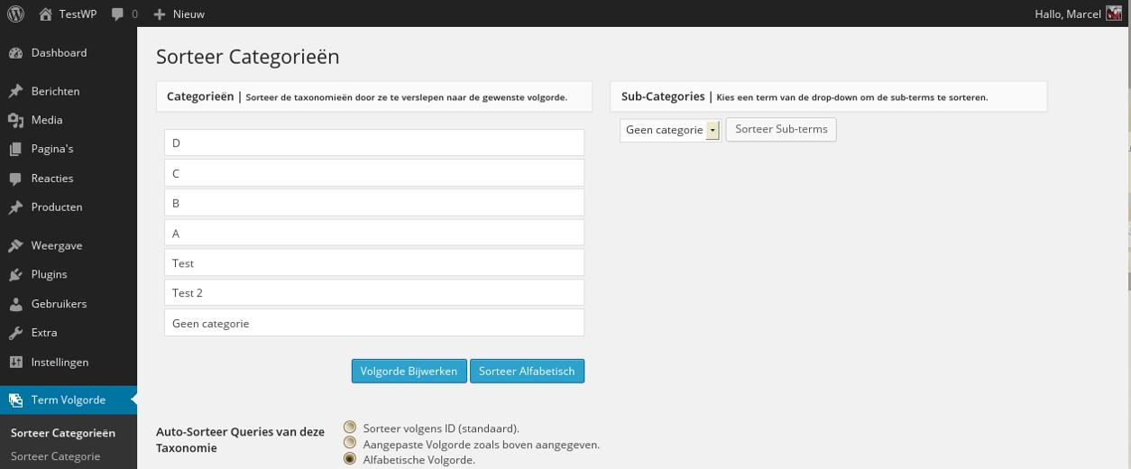 Download Custom Taxonomy Order 2.9.5 – Free WordPress Plugin
