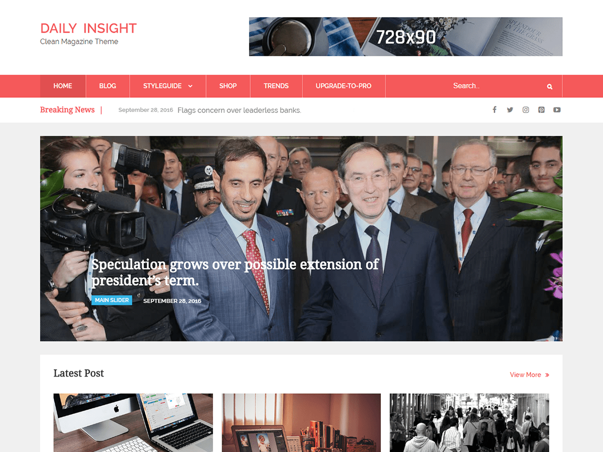Download Daily Insight 2.4 – Free WordPress Theme