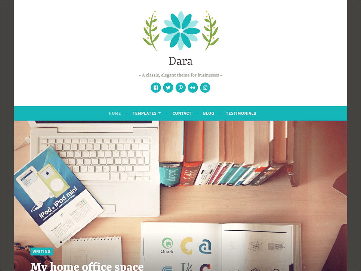 Download Dara 1.2.1 – Free WordPress Theme