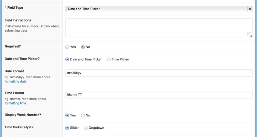 Download Date and Time Picker Field 2.1.5 – Free WordPress Plugin
