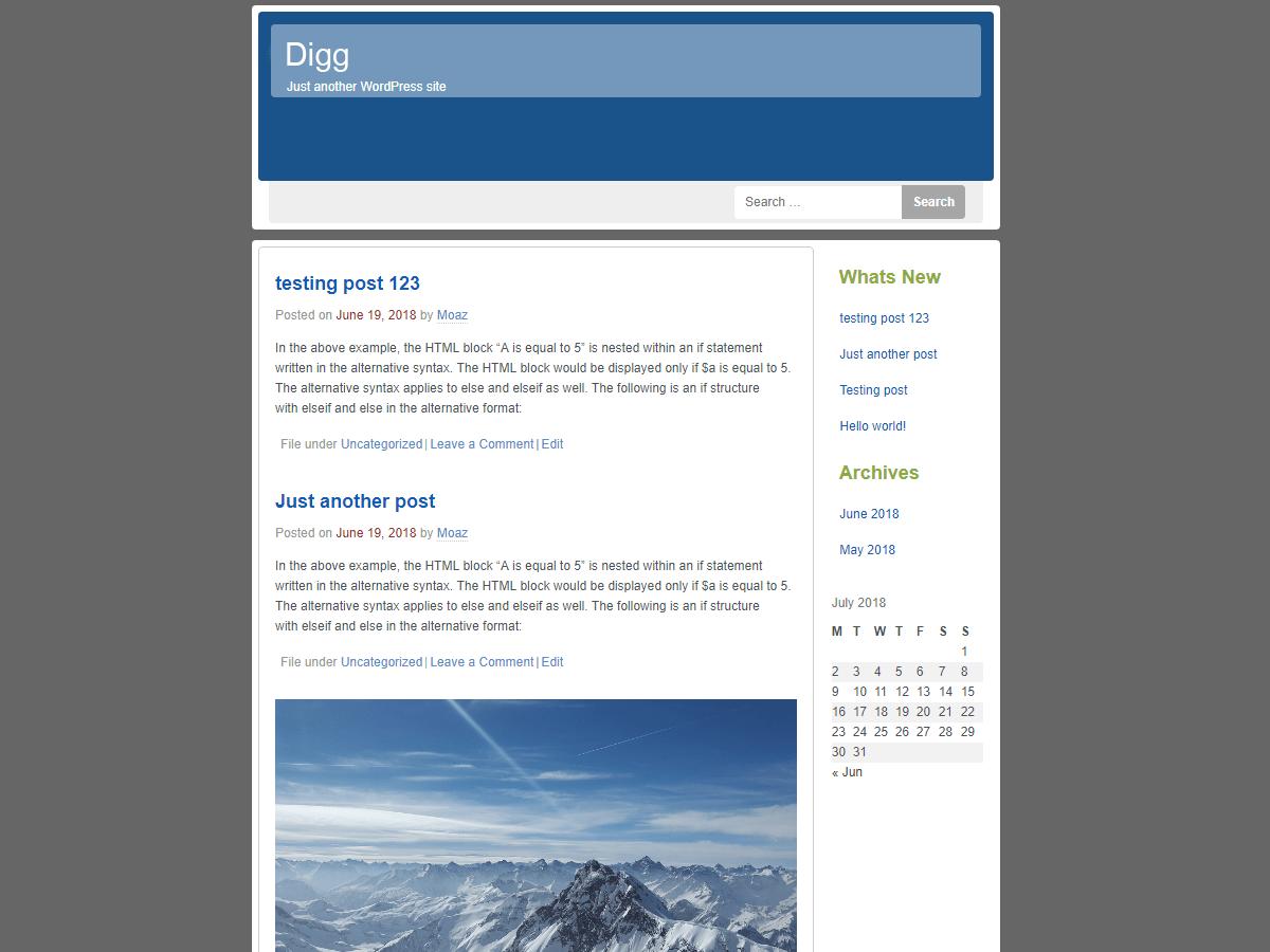 Download Digg 2.0.4 – Free WordPress Theme