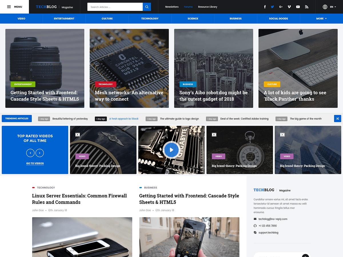 Download Digimag Lite 1.0.7 – Free WordPress Theme