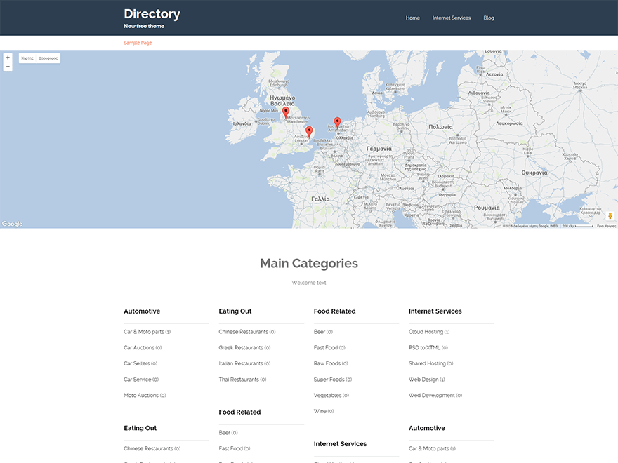 Download Directory 2.8 – Free WordPress Theme