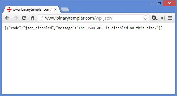 Download Disable REST API 1.4.3 – Free WordPress Plugin