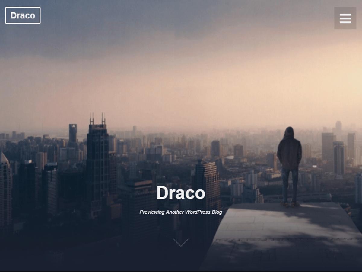 Download Draco 1.2.8 – Free WordPress Theme