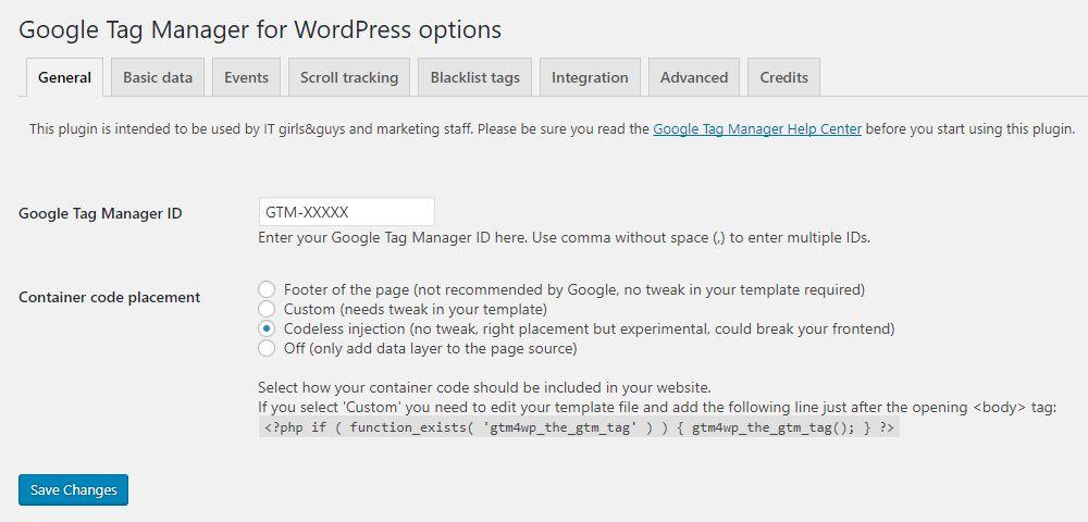 Download DuracellTomi's Google Tag Manager for WordPress 1.9 – Free WordPress Plugin