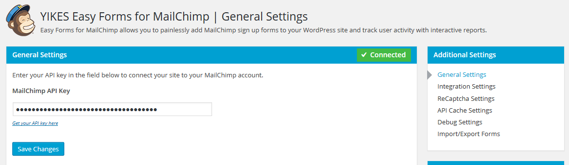 Download Easy Forms for MailChimp 6.4.7 – Free WordPress Plugin