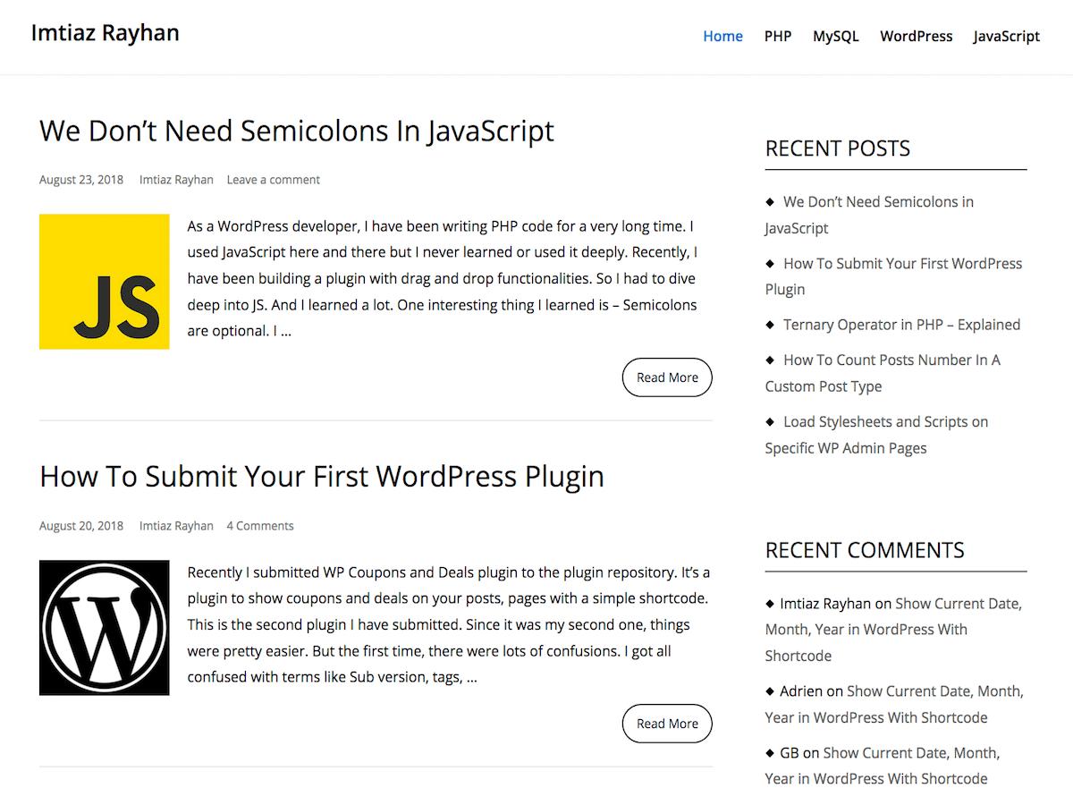 Download Echoes 1.0.8 – Free WordPress Theme
