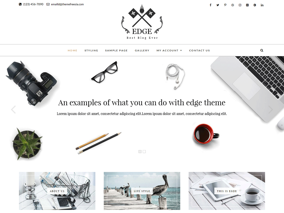 Download Edge 1.2.1.8 – Free WordPress Theme