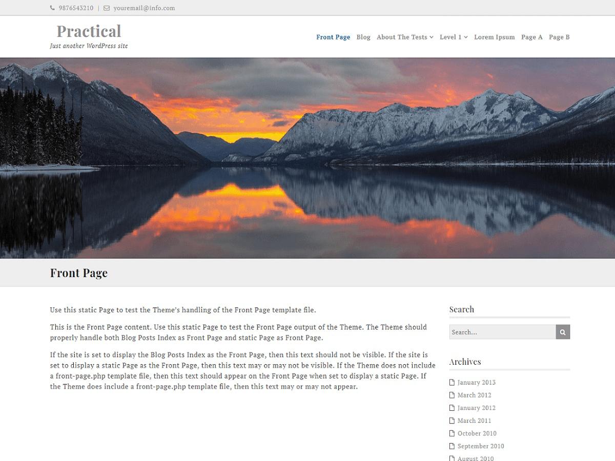 Download Ef Practical 1.1.2 – Free WordPress Theme