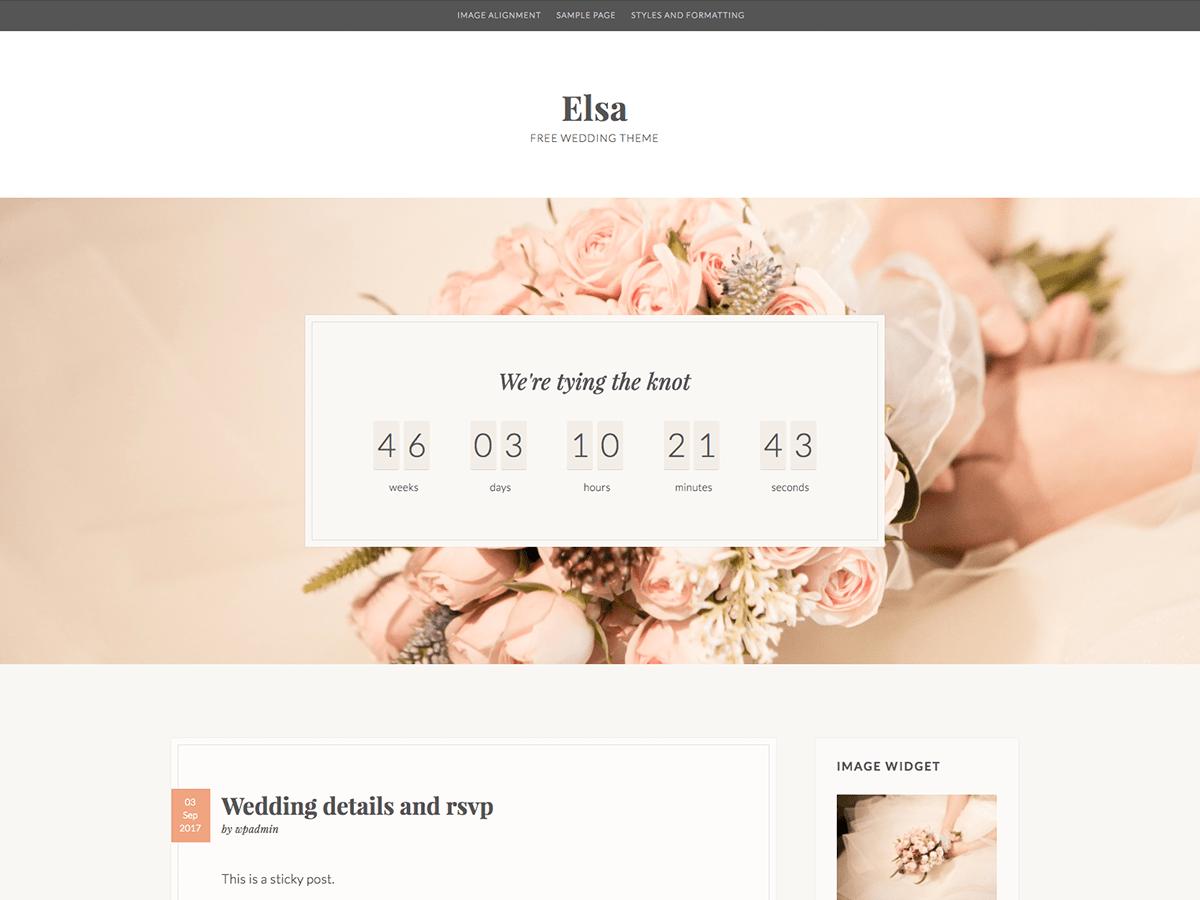 Download Elsa 3.4 – Free WordPress Theme