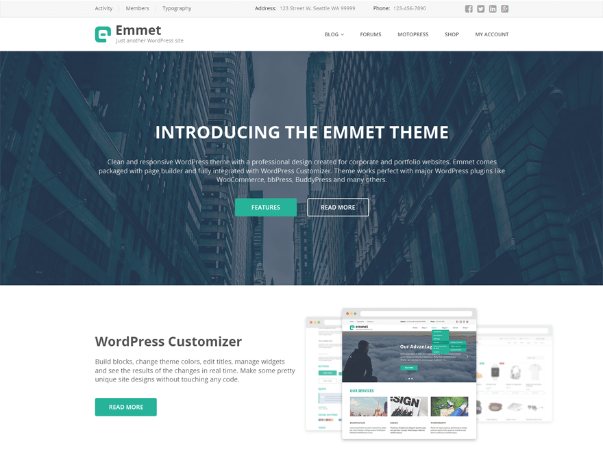 Download Emmet Lite 1.7.0 – Free WordPress Theme
