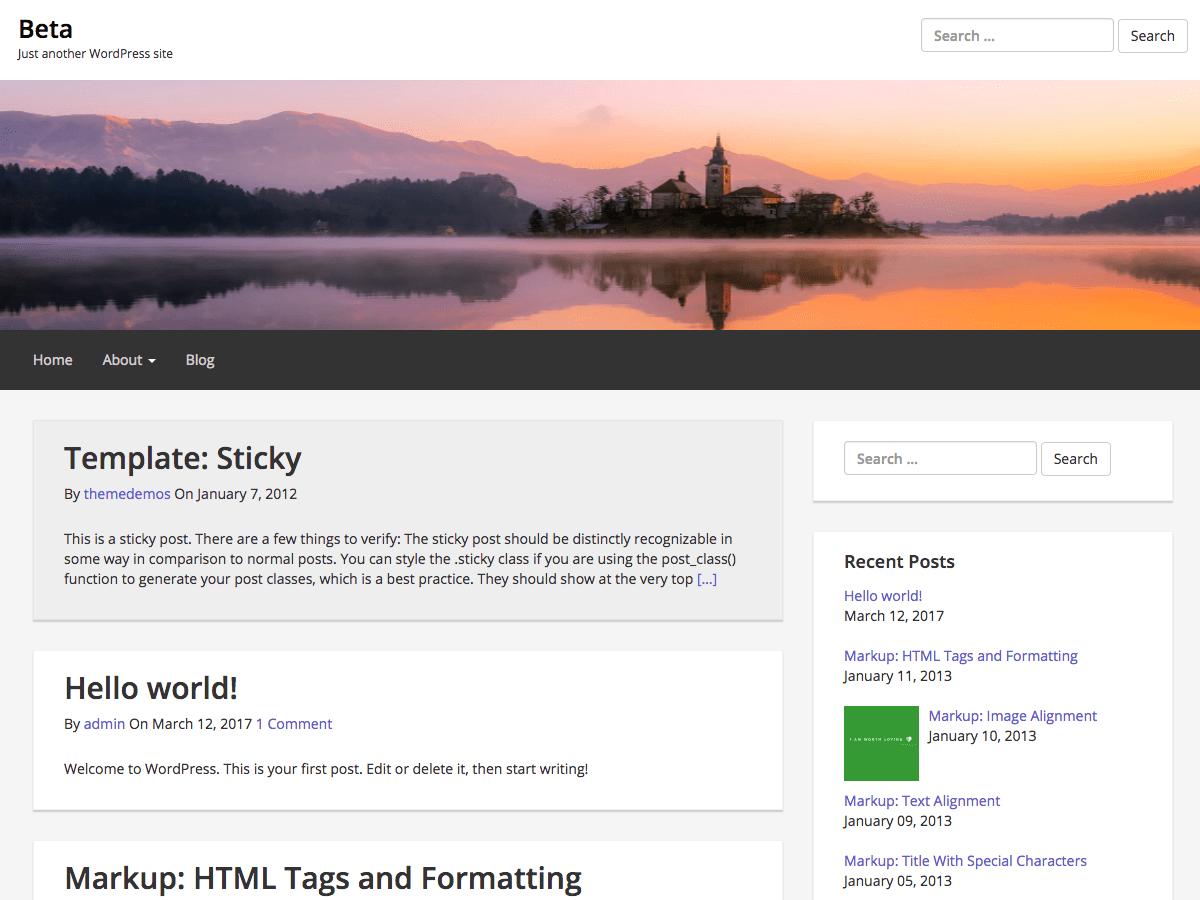 Download Epic Base 0.3.5 – Free WordPress Theme