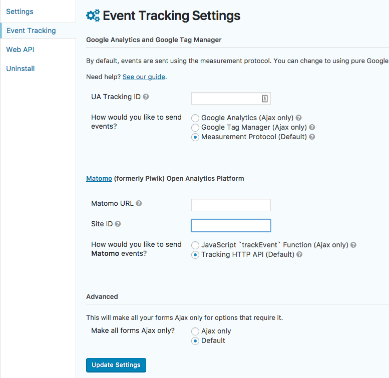 Download Event Tracking for Gravity Forms 2.3.0 – Free WordPress Plugin