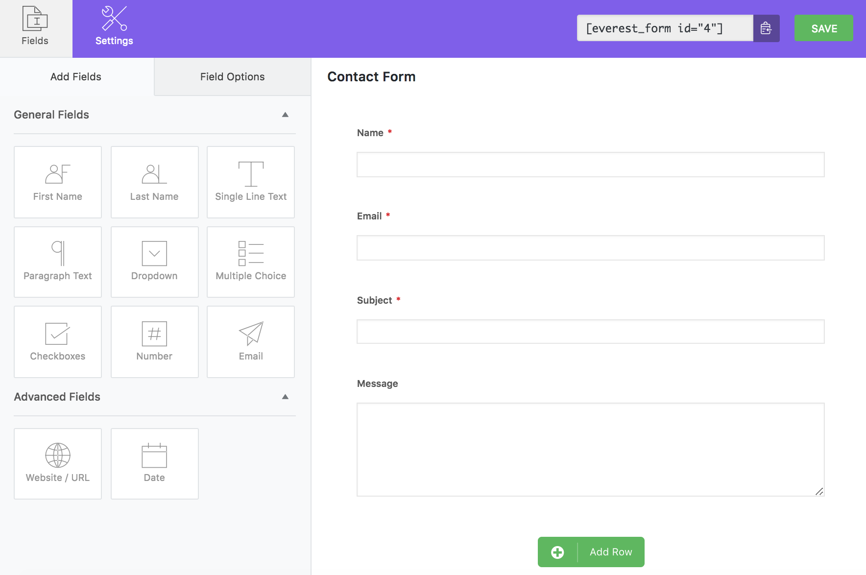 Download Everest Forms – Easy Contact Form and Form Builder for WordPress 1.3.1 – Free WordPress Plugin