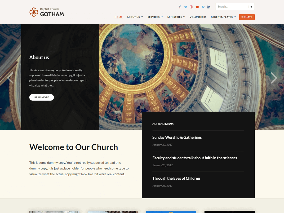 Download Faith 1.0.9 – Free WordPress Theme