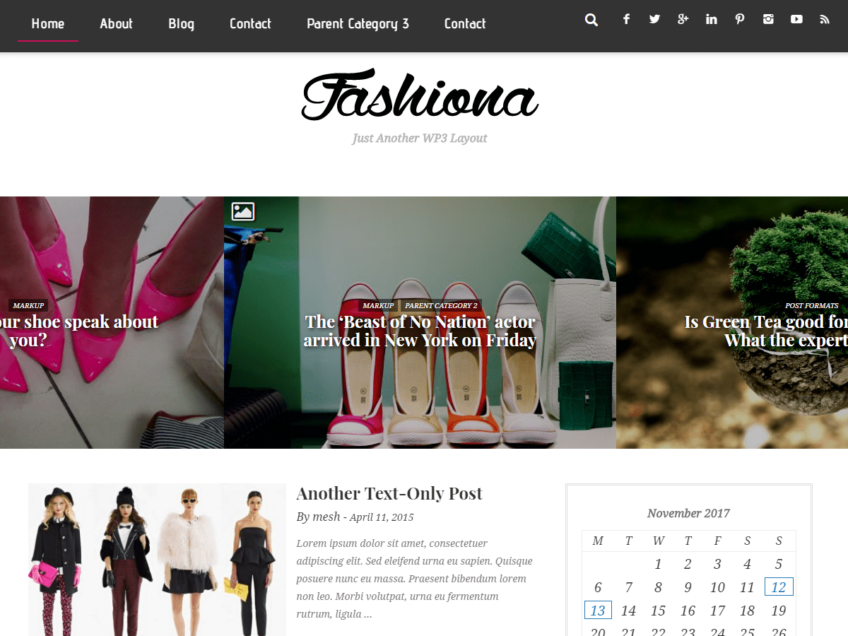 Download Fashiona 1.1.0 – Free WordPress Theme