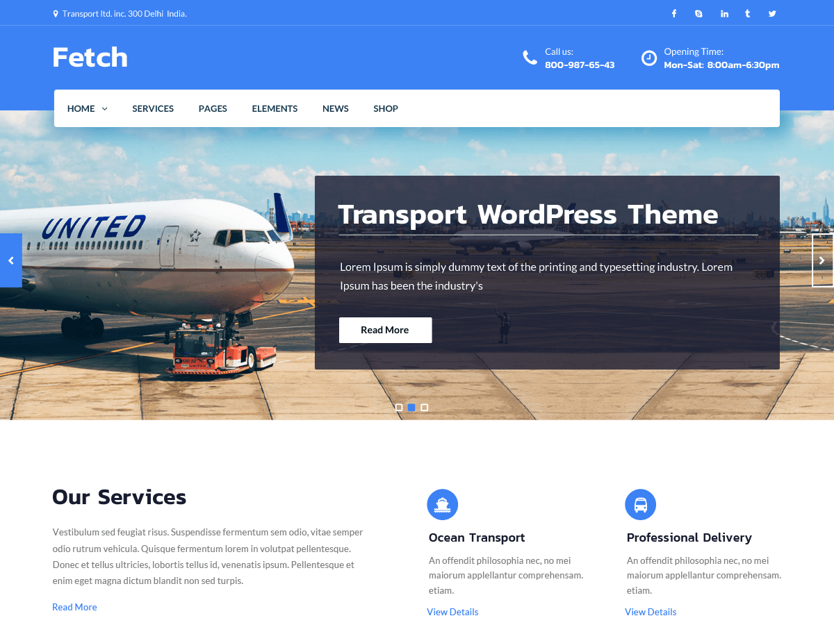 Download Fetch 1.0.8 – Free WordPress Theme
