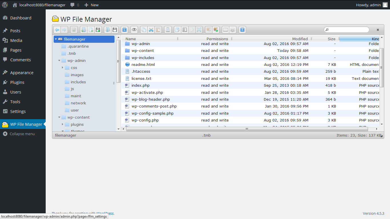 Download File Manager 3.1 – Free WordPress Plugin