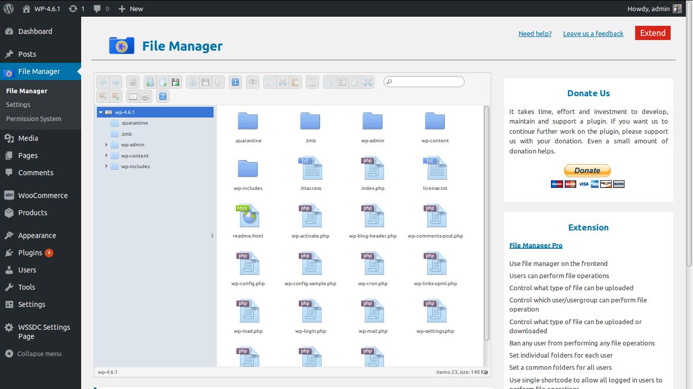 Download File Manager 5.0.3 – Free WordPress Plugin
