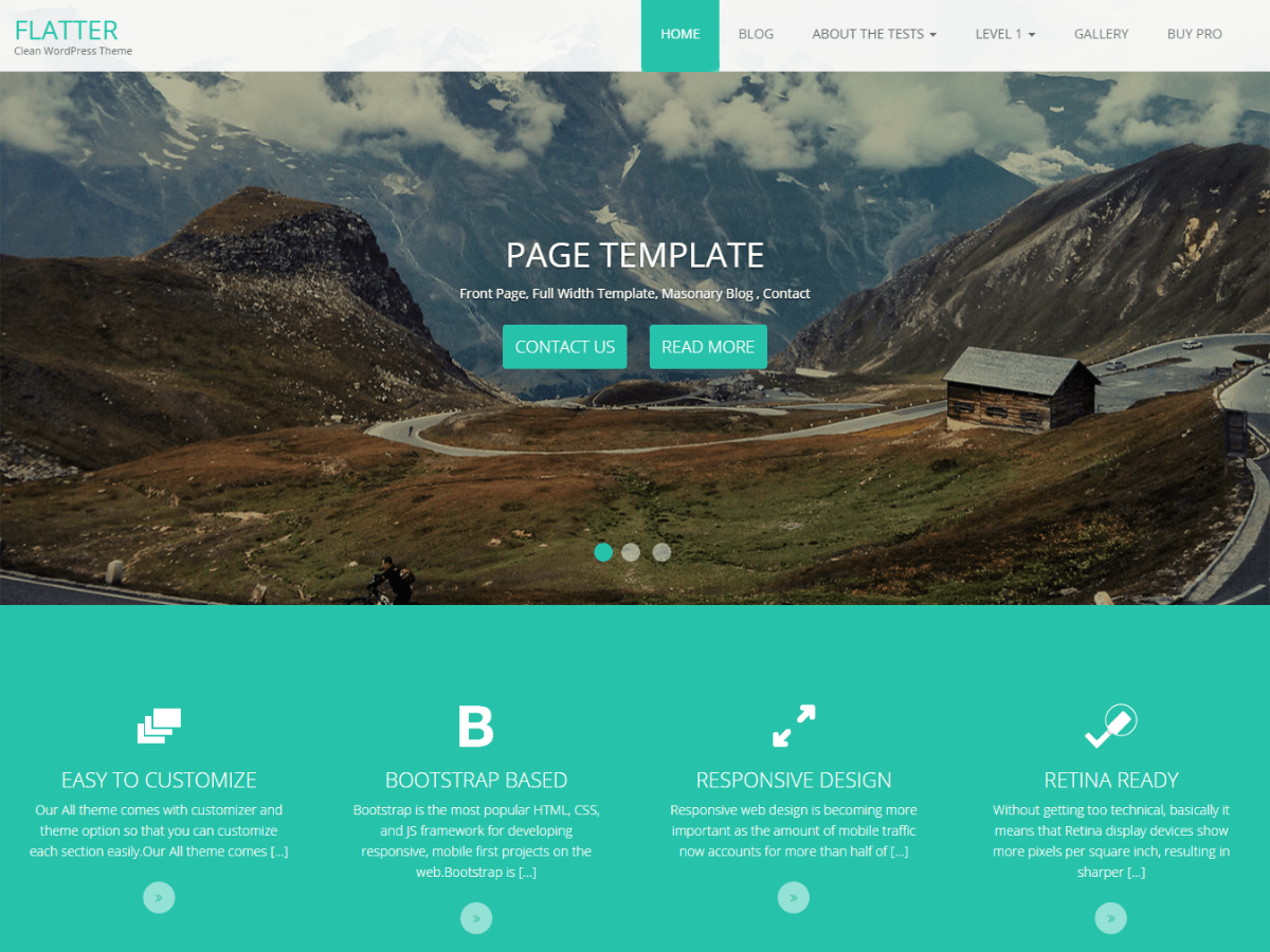 Download Flatter 2.1.5 – Free WordPress Theme