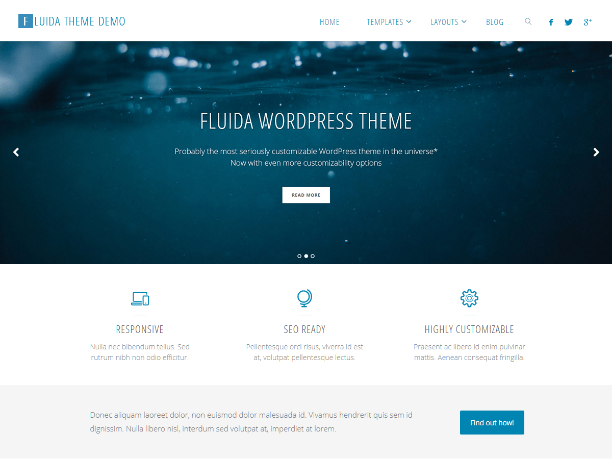 Download Fluida 1.5.6.1 – Free WordPress Theme