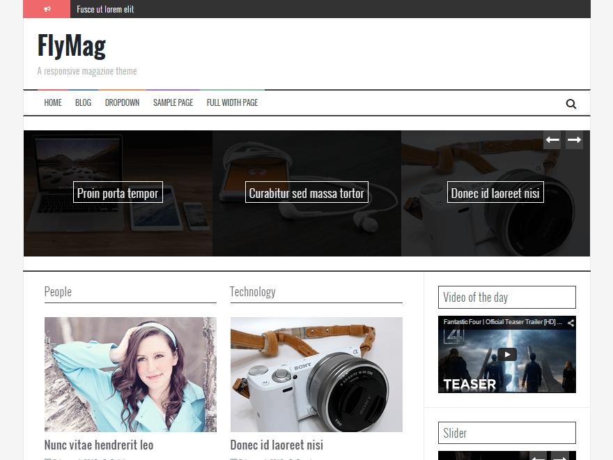 Download FlyMag 2.0.4 – Free WordPress Theme