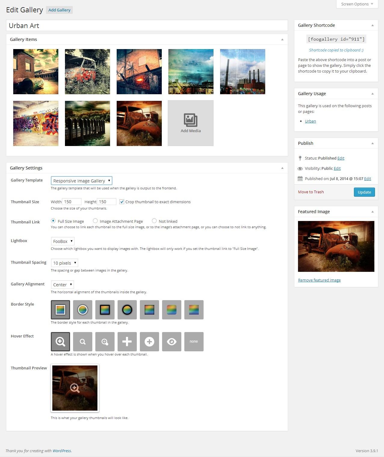 Download FooGallery – Image Gallery WordPress Plugin 1.5.9 – Free WordPress Plugin