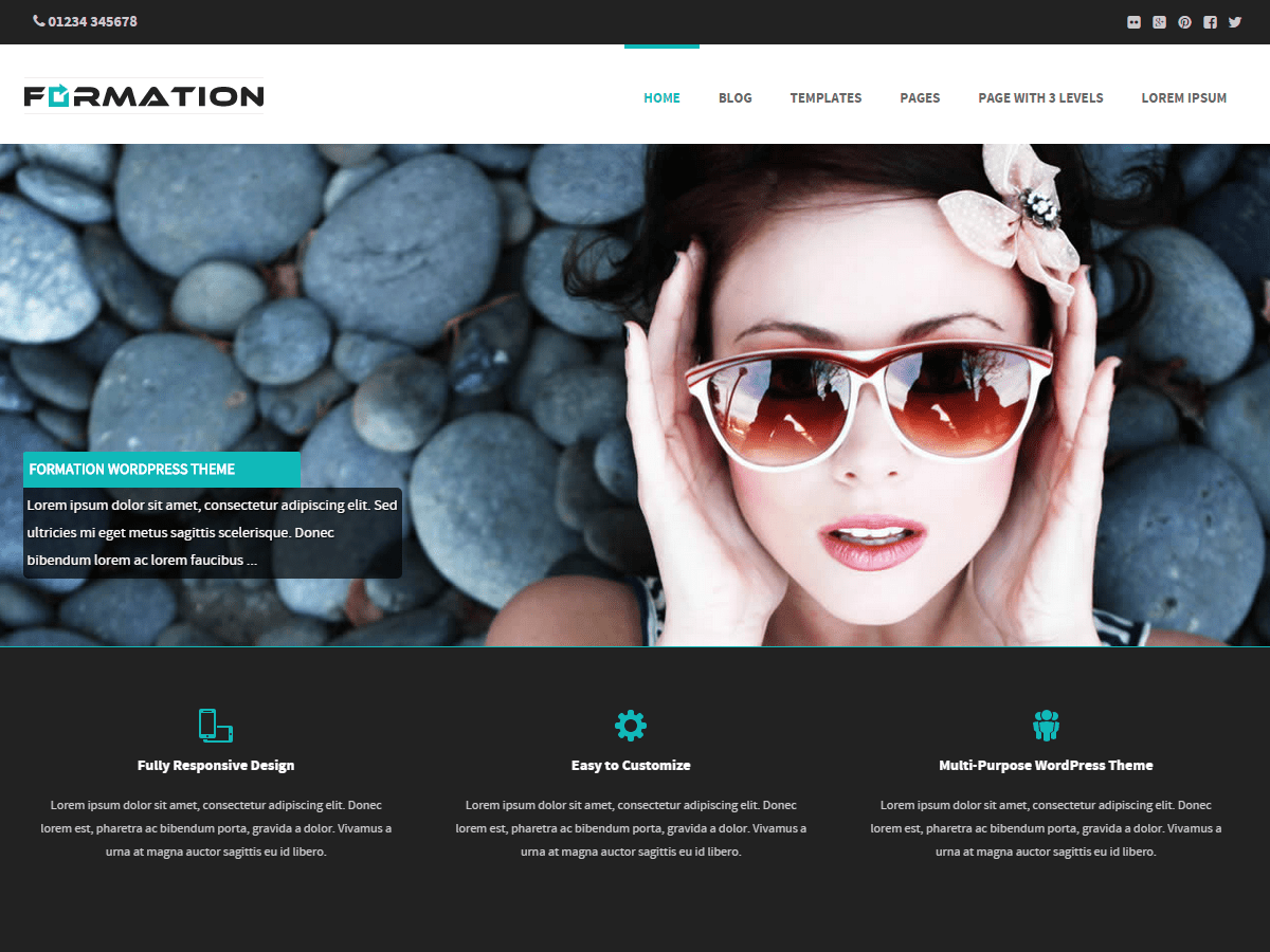 Download Formation 2.4.4 – Free WordPress Theme