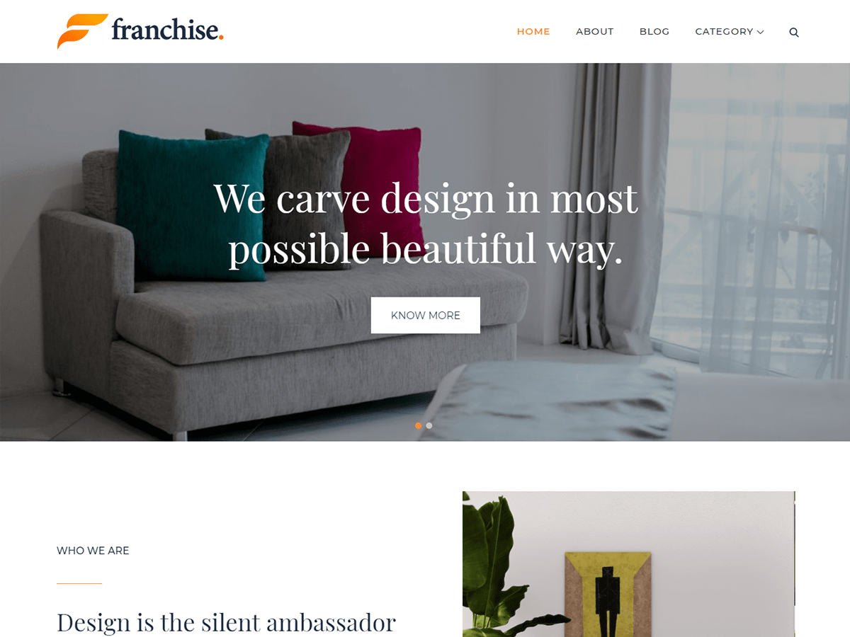 Download Franchise 1.0.5 – Free WordPress Theme