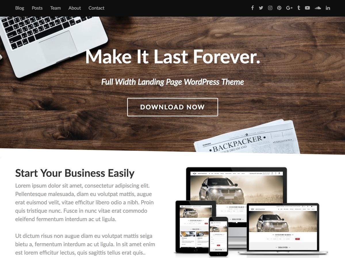 Download Fullwidther 2.4 – Free WordPress Theme