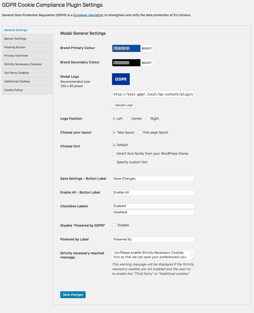 Download GDPR Cookie Compliance 1.1.7 – Free WordPress Plugin