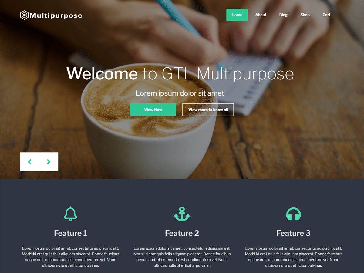 Download GTL Multipurpose 2.0.7 – Free WordPress Theme