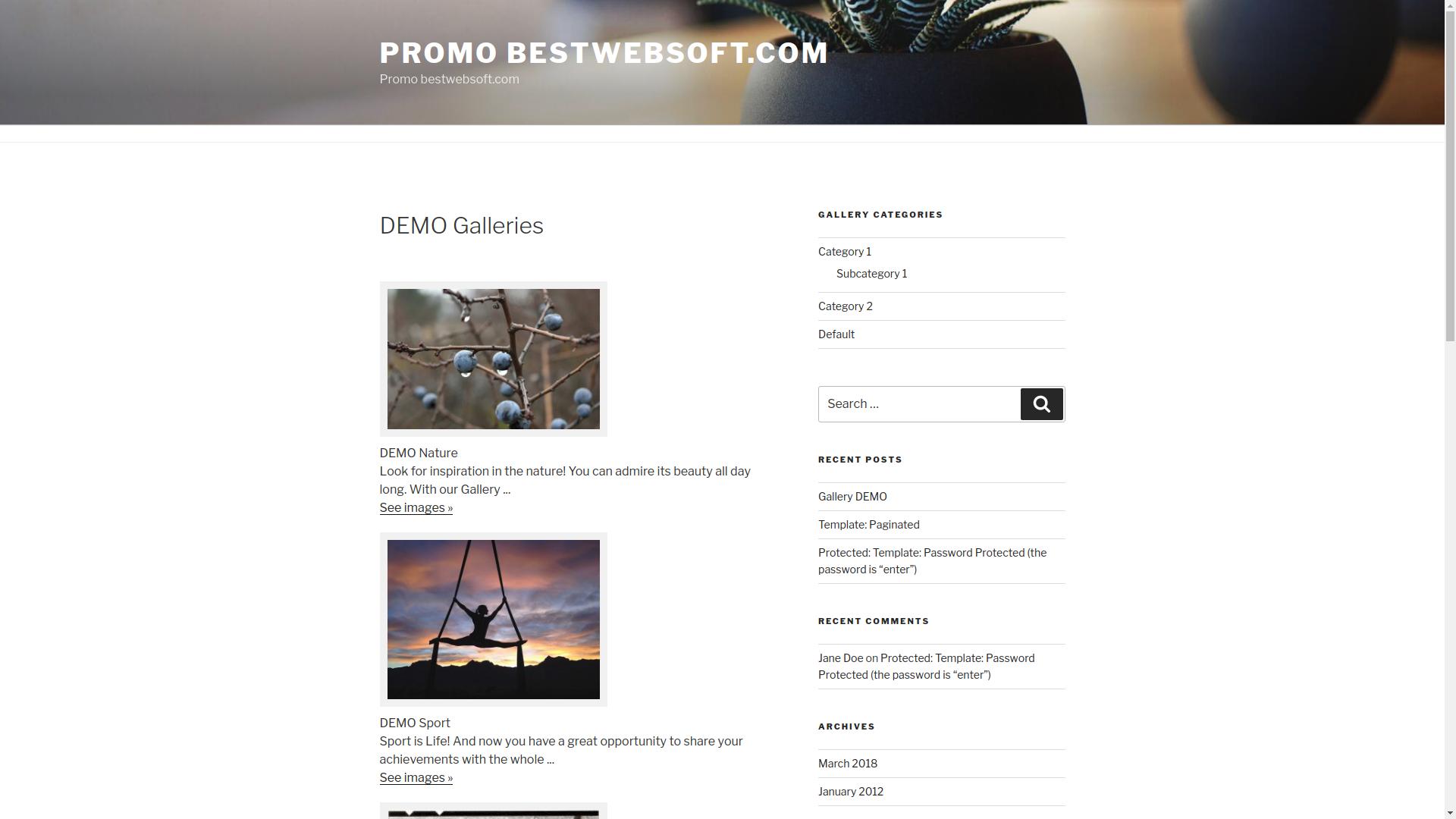Download Gallery by BestWebSoft 4.5.7 – Free WordPress Plugin