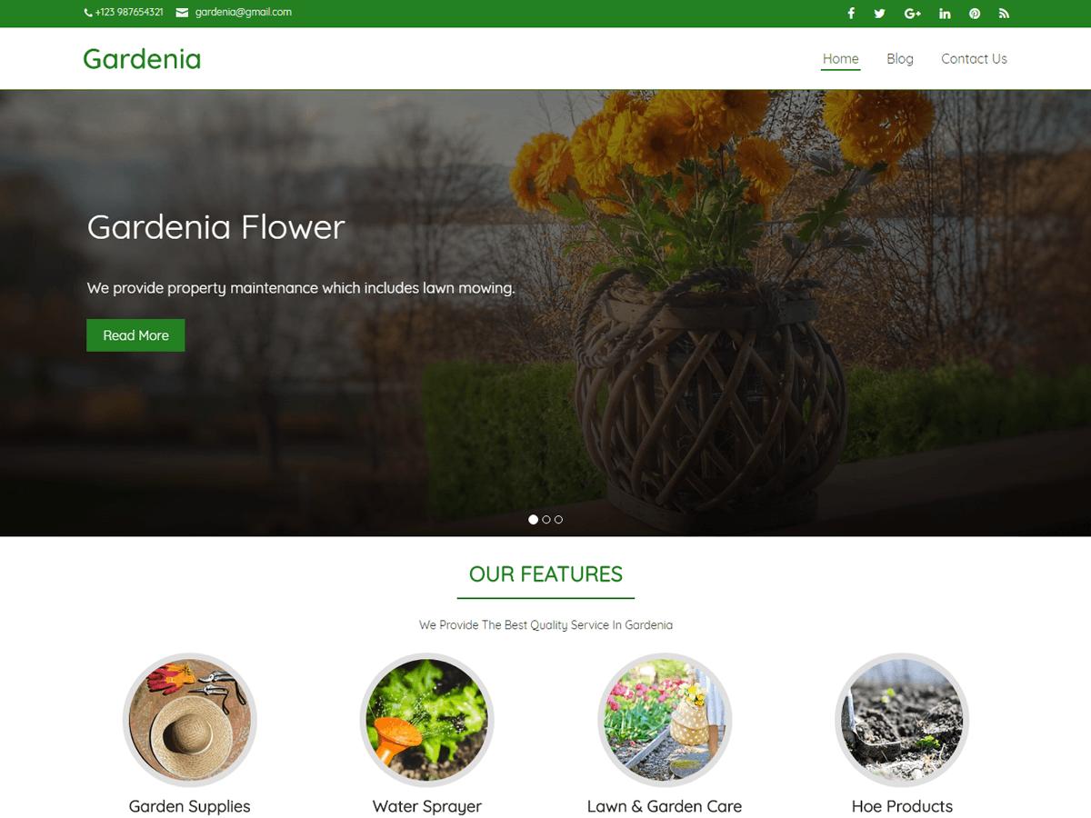 Download Gardenia 2.0.3 – Free WordPress Theme