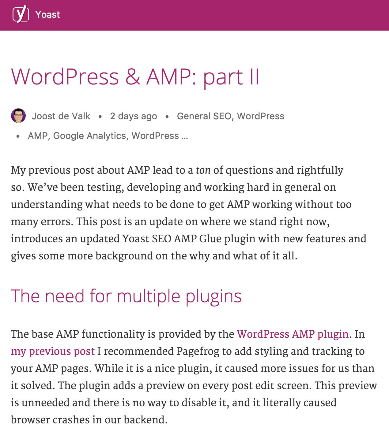 Download Glue for Yoast SEO & AMP 0.4.3 – Free WordPress Plugin