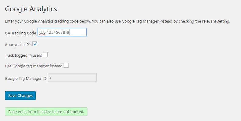 Download Google Analytics 1.7.2 – Free WordPress Plugin