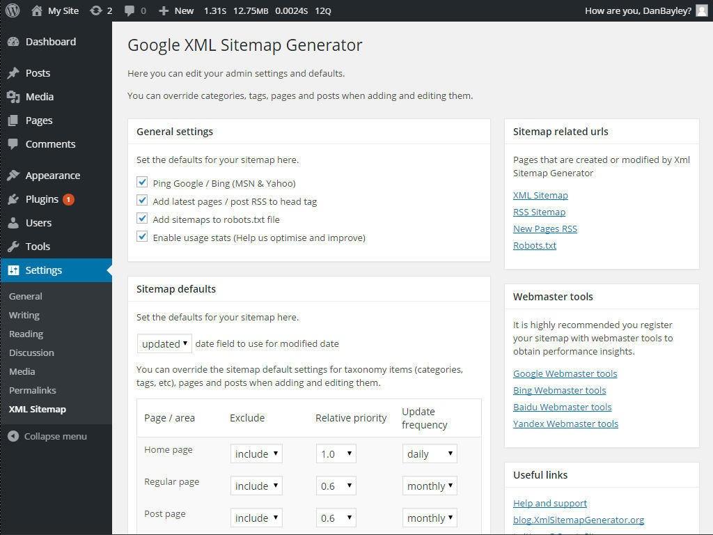 Download Google XML Sitemap Generator 1.3.4 – Free WordPress Plugin