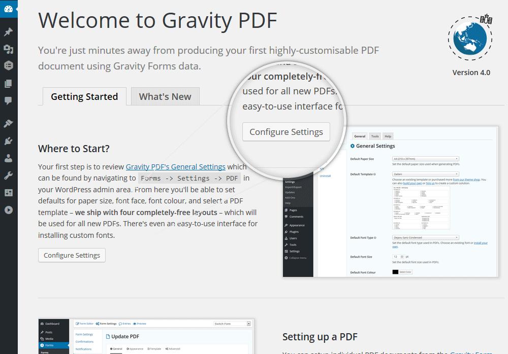 Download Gravity PDF 5.0.2 – Free WordPress Plugin