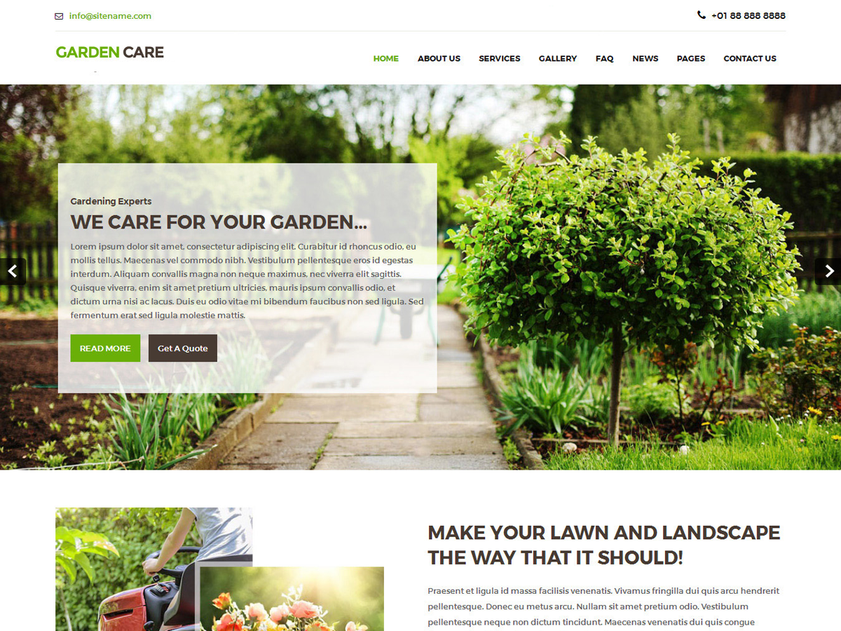 Download Greenhouse 1.1 – Free WordPress Theme