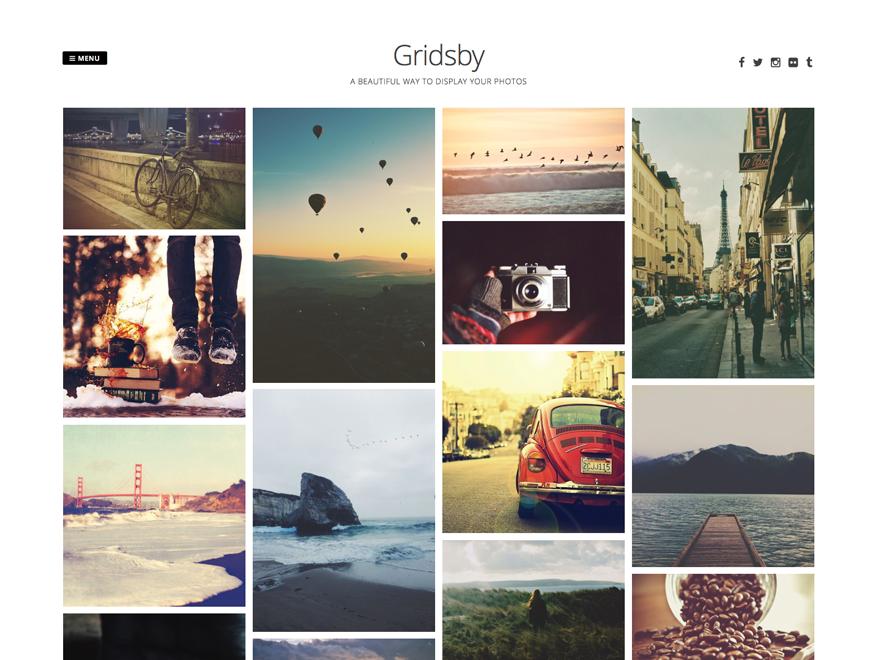 Download Gridsby 1.2.9 – Free WordPress Theme