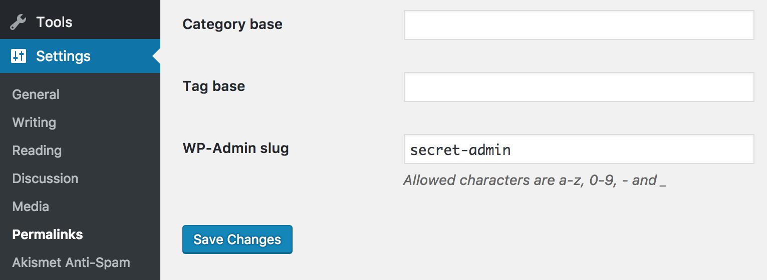 Download HC Custom WP-Admin URL 1.4 – Free WordPress Plugin