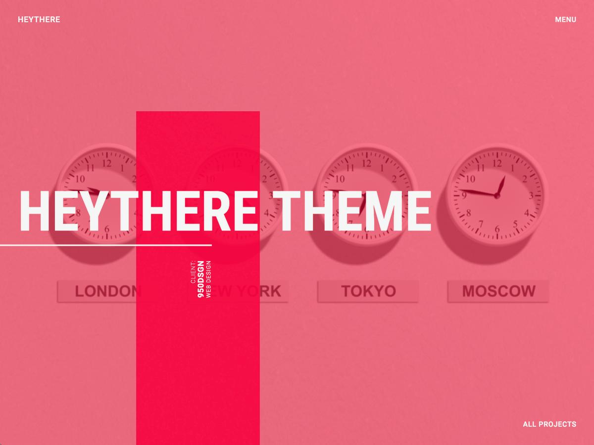 Download HEYTHERE Lite 1.2 – Free WordPress Theme