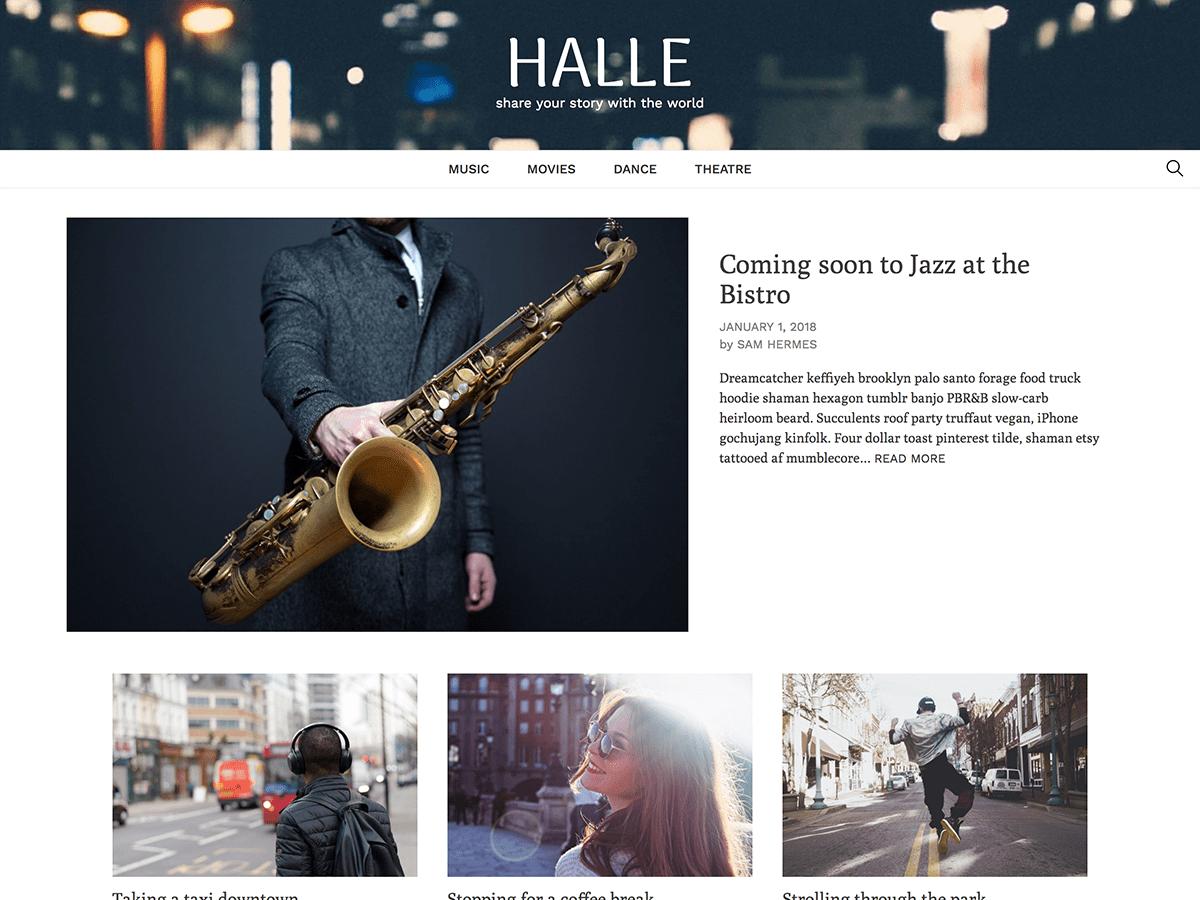 Download Halle 1.0.6 – Free WordPress Theme